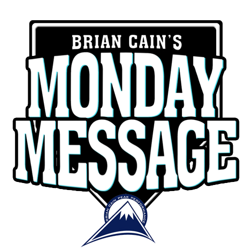 Brian Cain's Monday Message Logo