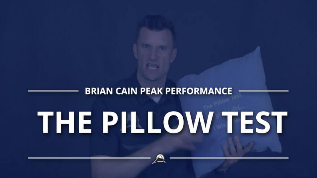 The Pillow Test #Pillar1