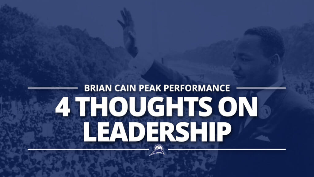 4 Thoughts on Leadership
