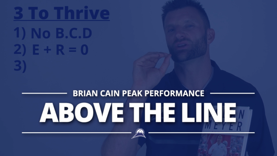 above the line performance There is a long standing belief in business that people performance follows the bell curve like the blue curve above in the area of performance.