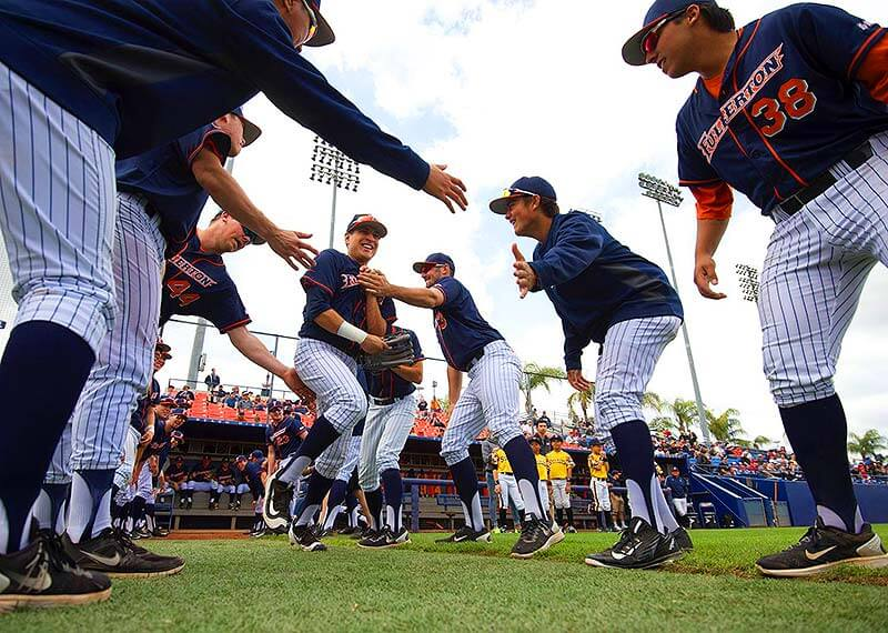 Taking an inside look at Cal State Fullerton's pregame preparation process