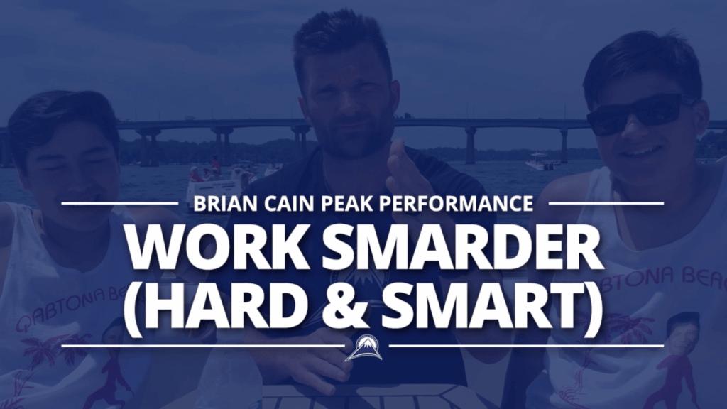 Work SMARDER (Hard & Smart)